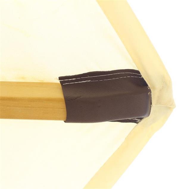 Sonnenschirmbespannung 250cm rund in Standardfarbe SunProof Drill für Ocean Deluxe mit Lederkappe
