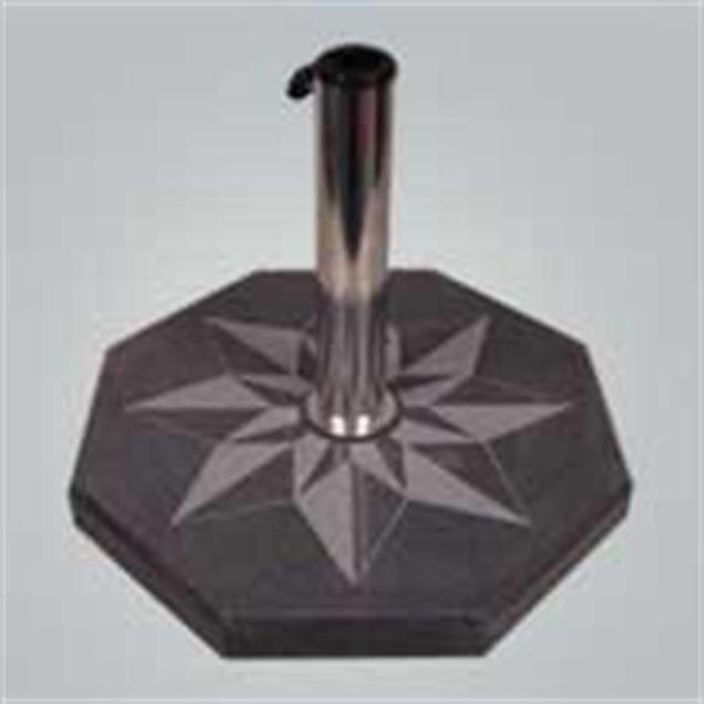Schirmständer Granit »Wind Rose Double« 50x50x6