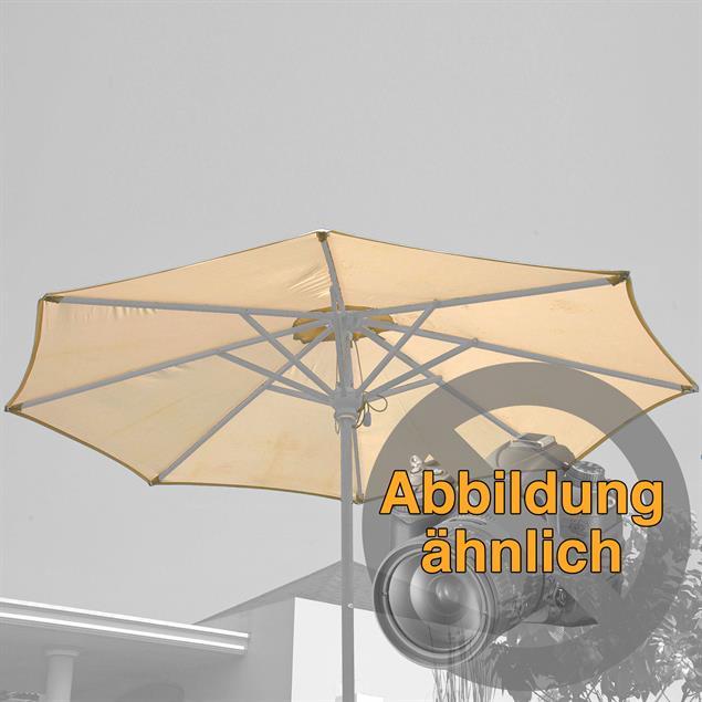 Sonnenschirmbespannung 275 cm rund Nagata Drill Standardfarbe