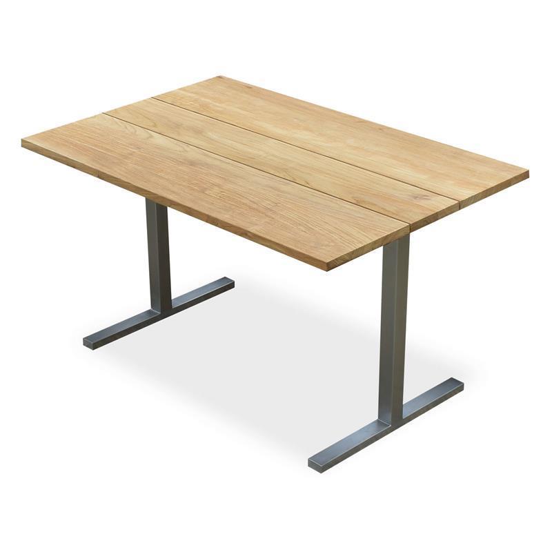 Planka Dining Lounge Tisch 120 X 120 X 69 Cm Teak G Teakoutlet