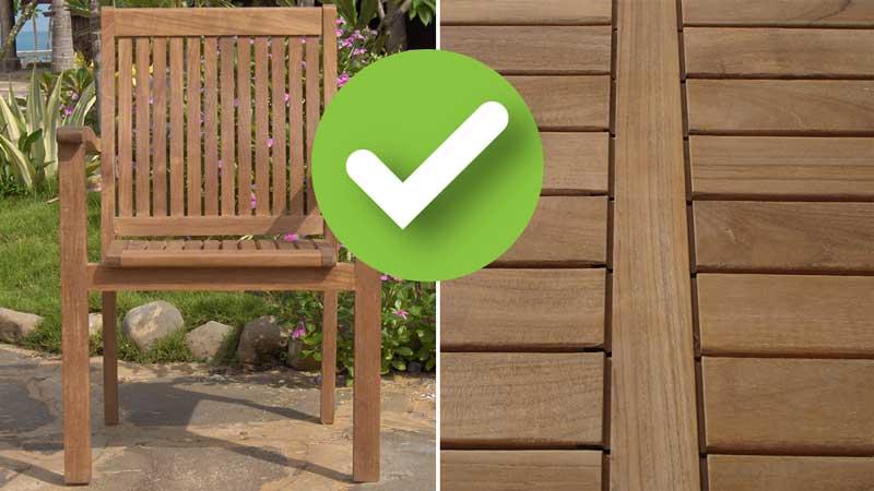 """Stuhl und Tischplatte """"Grade A"""""""