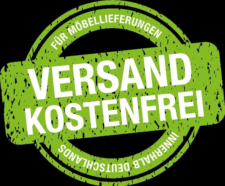 Versandkostenfreie Möbellieferung innerhalb Deutschlands