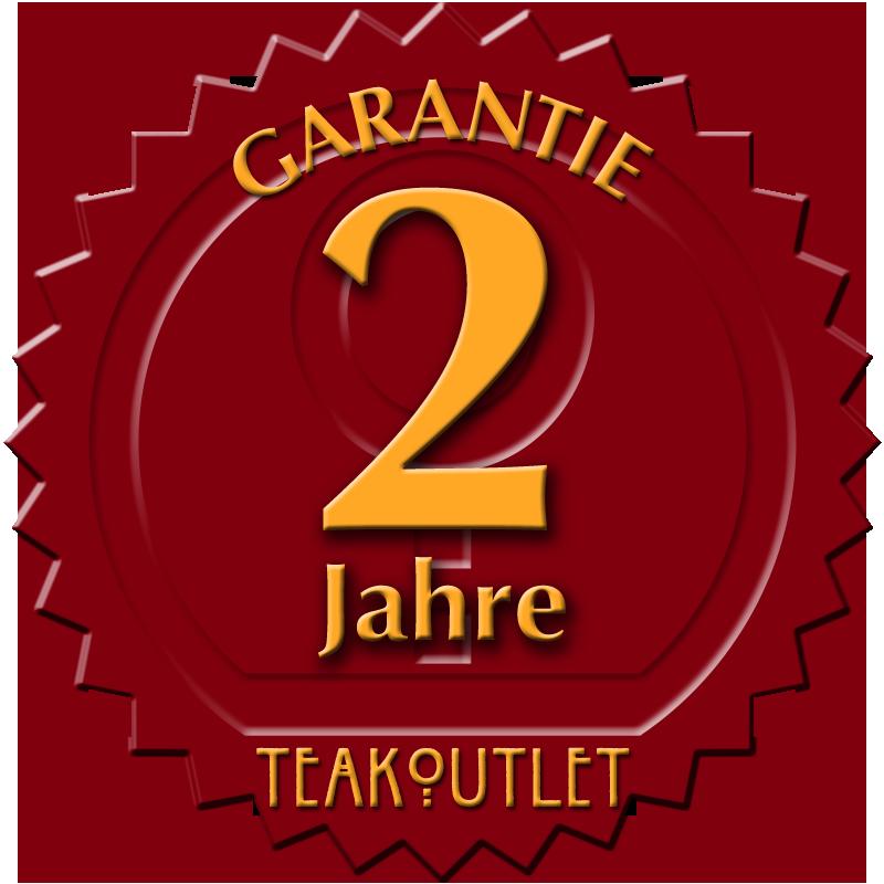 2-Jahre Teakoutlet Garantie